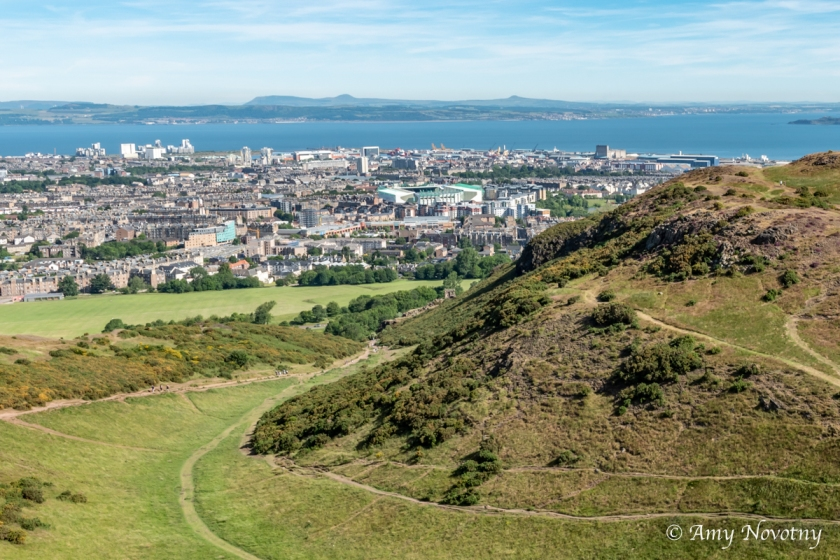 Edinburgh from Arthur's Seat 8749