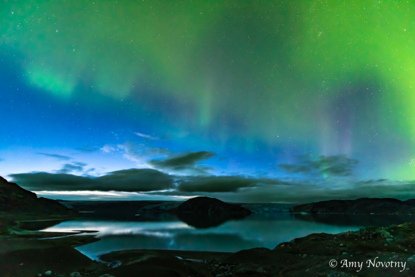 Greenland Qaleraliq Northern lights 5425 August 16, 2018