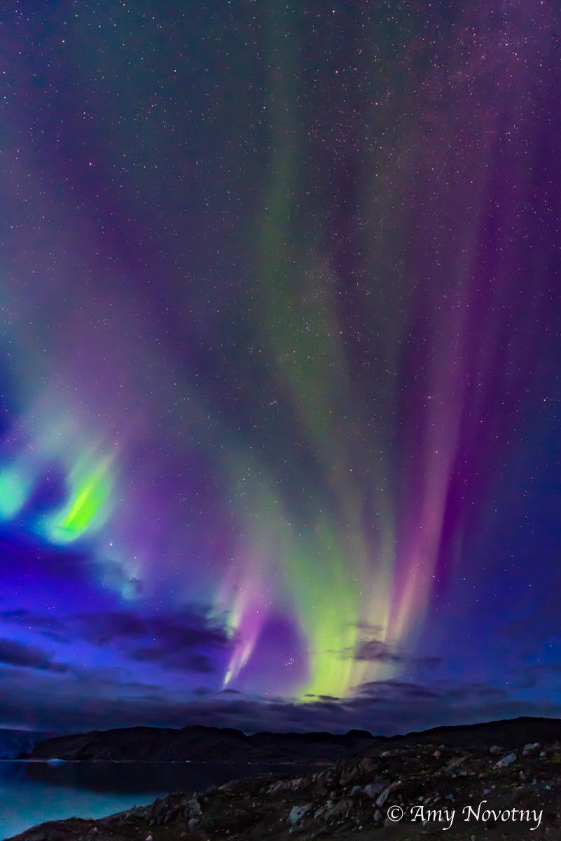 Greenland Qaleraliq Northern lights 5434 August 16, 2018