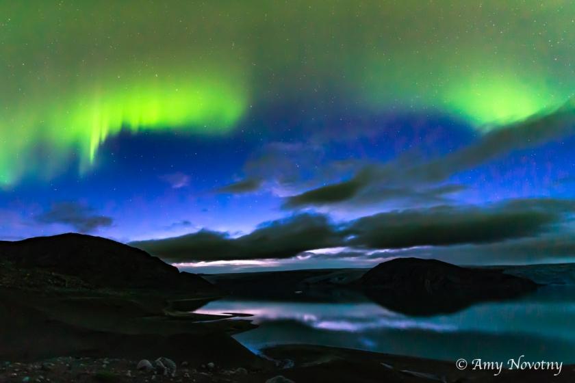 Greenland Qaleraliq Northern lights 5443 August 16, 2018