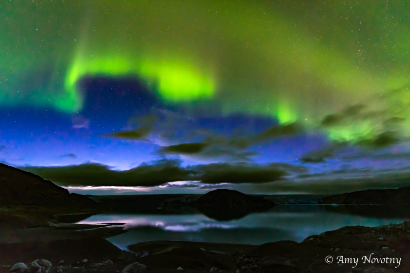 Greenland Qaleraliq Northern lights 5446 August 16, 2018