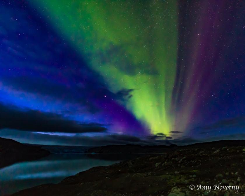 Greenland Qaleraliq Northern lights 5497 August 16, 2018