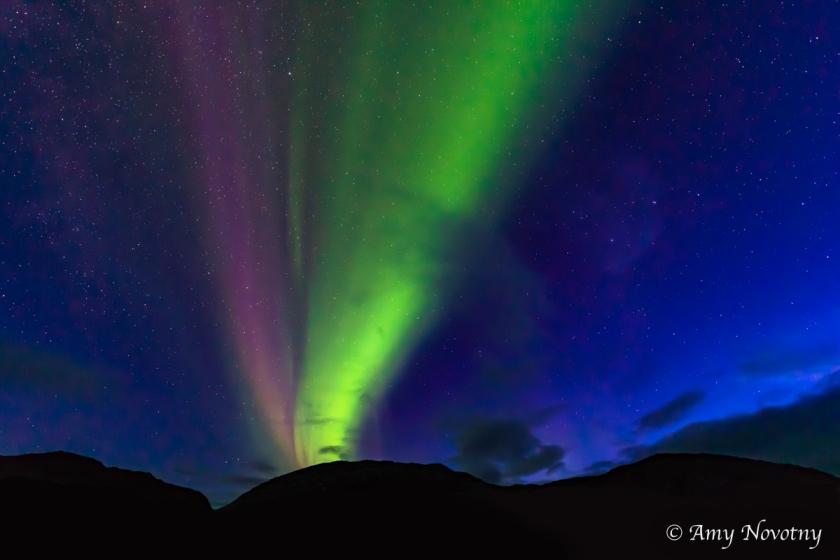Greenland Qaleraliq Northern lights 5515 August 16, 2018