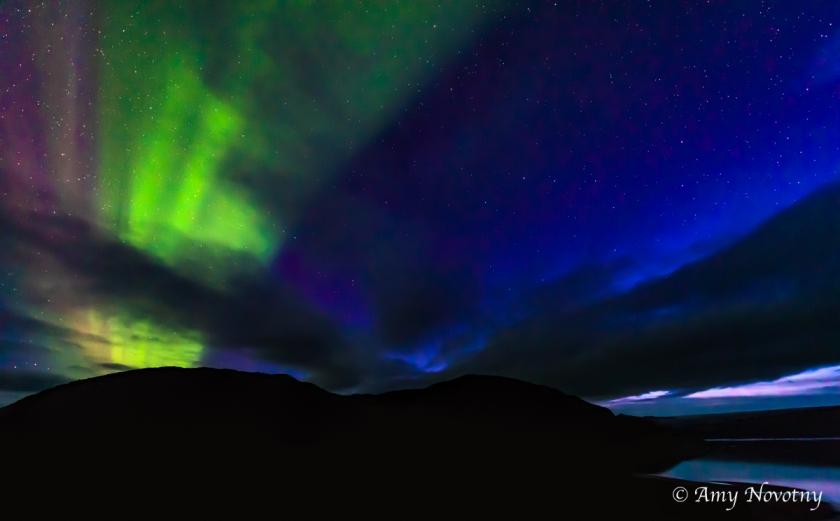 Greenland Qaleraliq Northern lights 5538 August 16, 2018