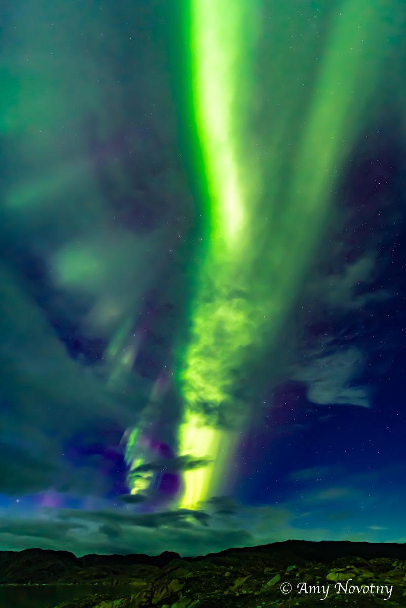 Greenland Qaleraliq Northern lights 5557 August 16, 2018