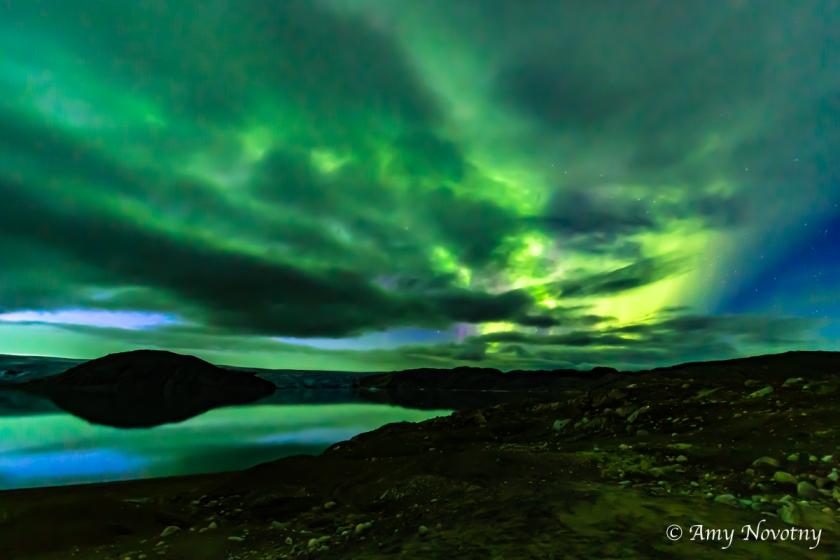 Greenland Qaleraliq Northern lights 5568 August 16, 2018