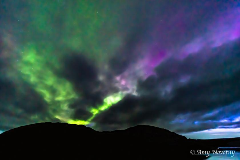 Greenland Qaleraliq Northern lights 5584 August 16, 2018