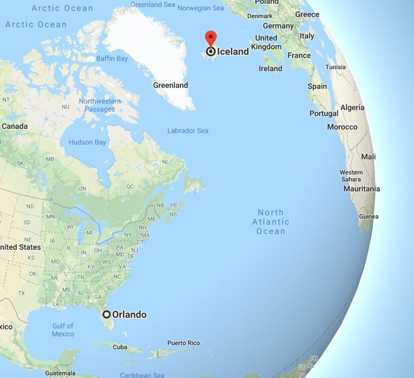 Iceland map 2